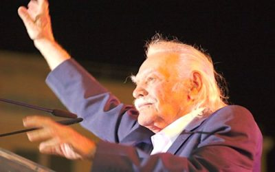 Manolis Glezos, héros de la Résistance grecque, est mort