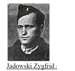 Mémoires de Jadowski Zygfrid