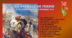 La bataille  de Verdun Du 21 février 1916 au 19 décembre 1916
