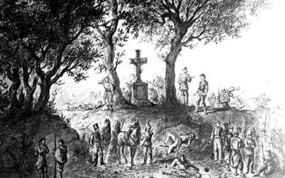 Le  août 1870 : FROSSARD ordonne la retraite