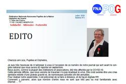 FNAPOG : Le bulletin de juillet 2020 est en ligne.