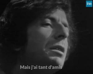 The Partisan de Léonard Cohen en hommage