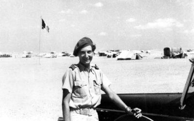 SUSAN, seule femme jamais incorporée dans la Légion Etrangère…