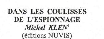 A lire Michel KLEN Officier Saint-Cyrien Docteur en lettres et  sciences humaines