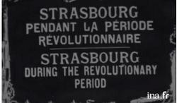 Déjà une caméra en 1918 pour nous transmettre des images d'Alsace !!!