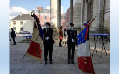 Journée Nationale de la Résistance 27 mai 2021 Stèle Jean Moulin