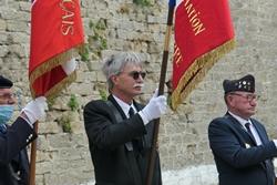 FNAPOG Morbihan cérémonie du 13 juillet au fort de Penthièvre à Saint Pierre  Quiberon